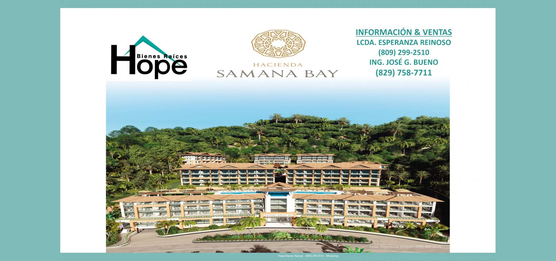 Vendo Apartamentos Turísticos en Samaná
