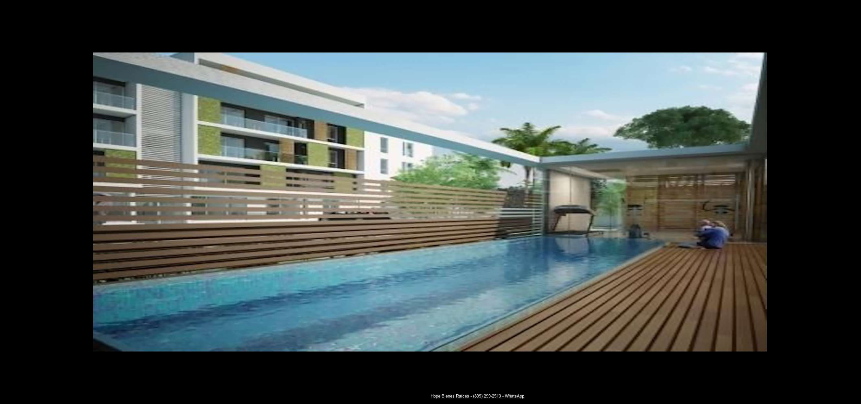 Eco área de piscina