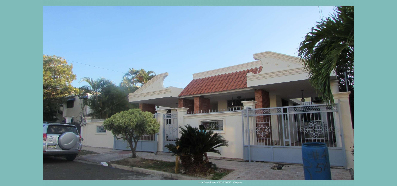 Vendo Casa en La Zurza con 360 m2 Solar