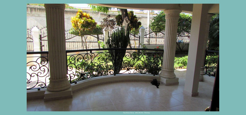 Alquilo 1er Nivel Casa en Tavarez Oeste