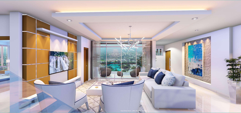 15- Apto grande - estar balcón