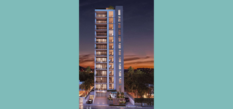 02 Torre Dib - Render Exterior Night