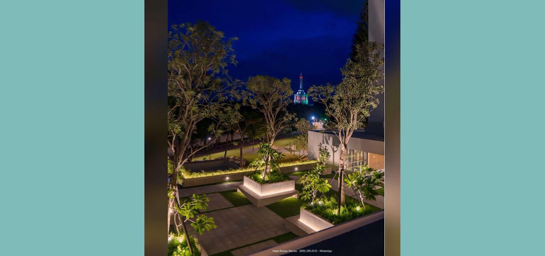 Vista al parque y Monumento