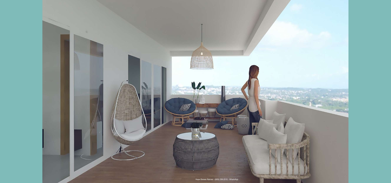 14Balcones penthouse