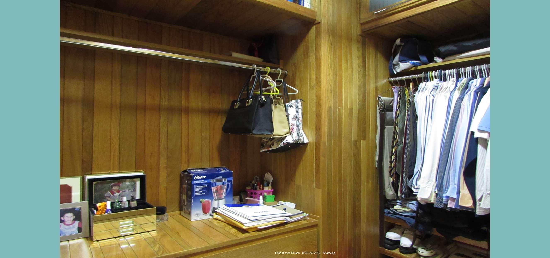 hb-Walk in closet en Cedro