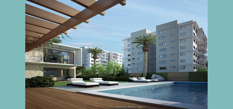3-Áreas sociales con piscina