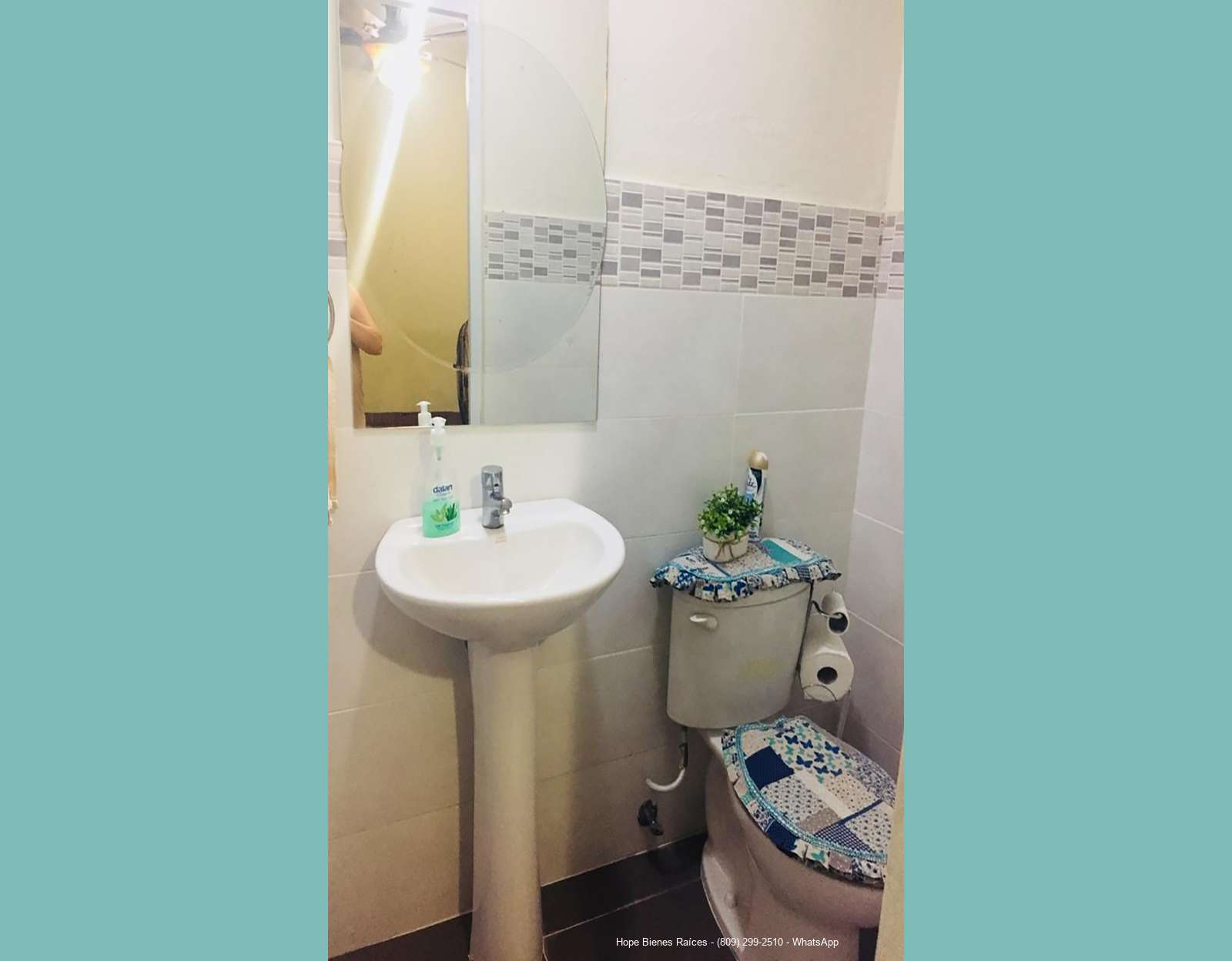 6-Medio baño