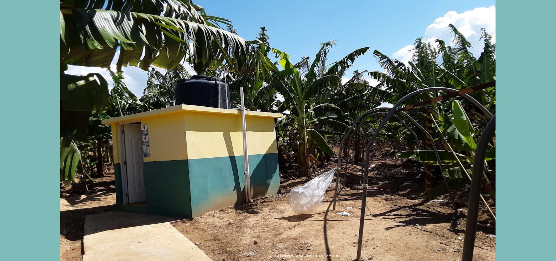 Finca de bananos orgánicos - Bombeo de agua