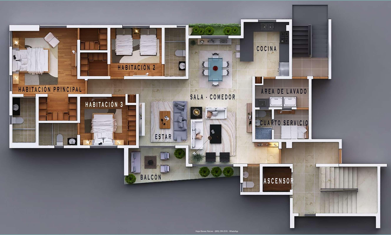 Distribución Arquitectónica