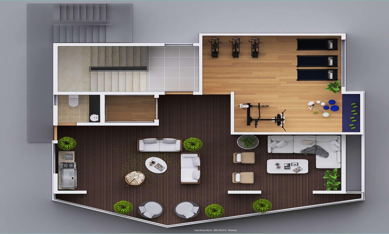 Rooftop - arquitectónico