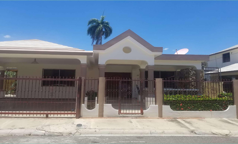 Vendo Hermosa Residencia en Zona Suroeste de Santiago RD