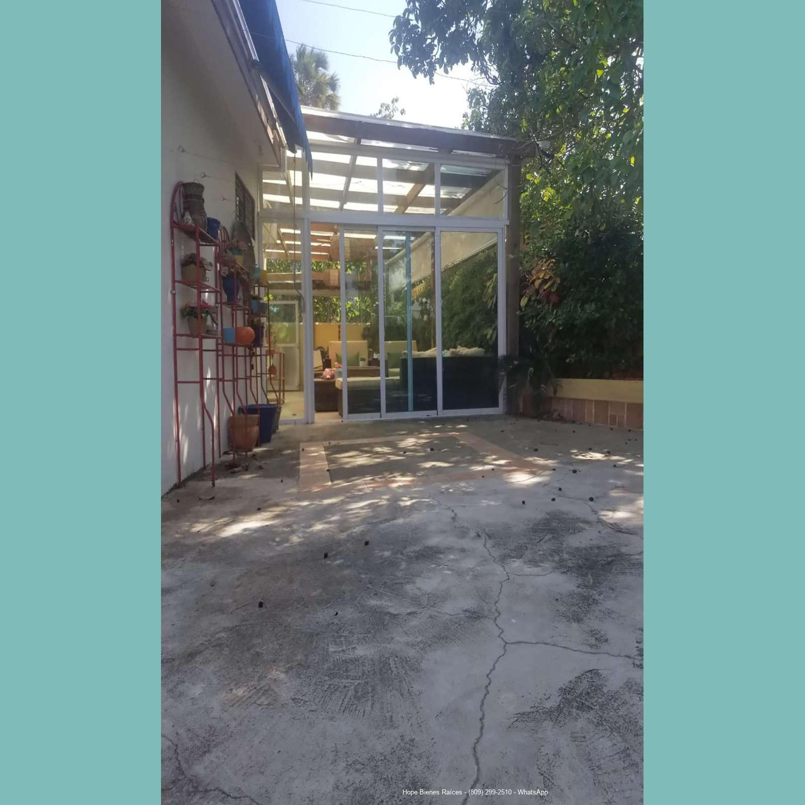 Patio - Terraza techada